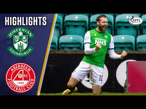 Hibernian Aberdeen Goals And Highlights