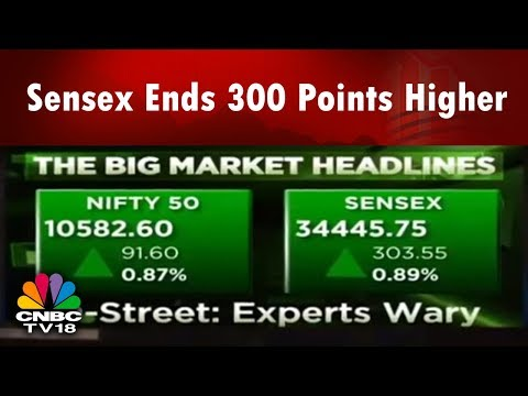 Sensex Ends 300 Points Higher   Nifty Around 10,600   Auto Gains Big   Market Today   CNBC-TV18