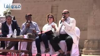 بالفيديو : كلمة الممثل العالمي دانى جلوفر خلال فعاليات مهرجان السينما الأفريقية فى الأقصر