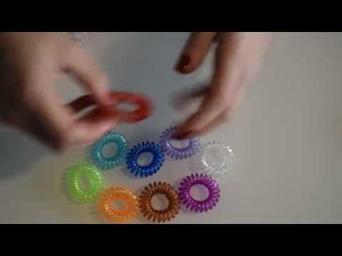 LUQX Spiral Hair Ties Review, Invisible bobbles at only 22p each