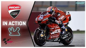 Ducati in action: 2019 #QatarGP