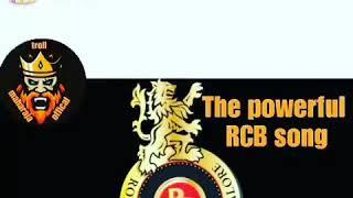 #RCB# troll kannada song