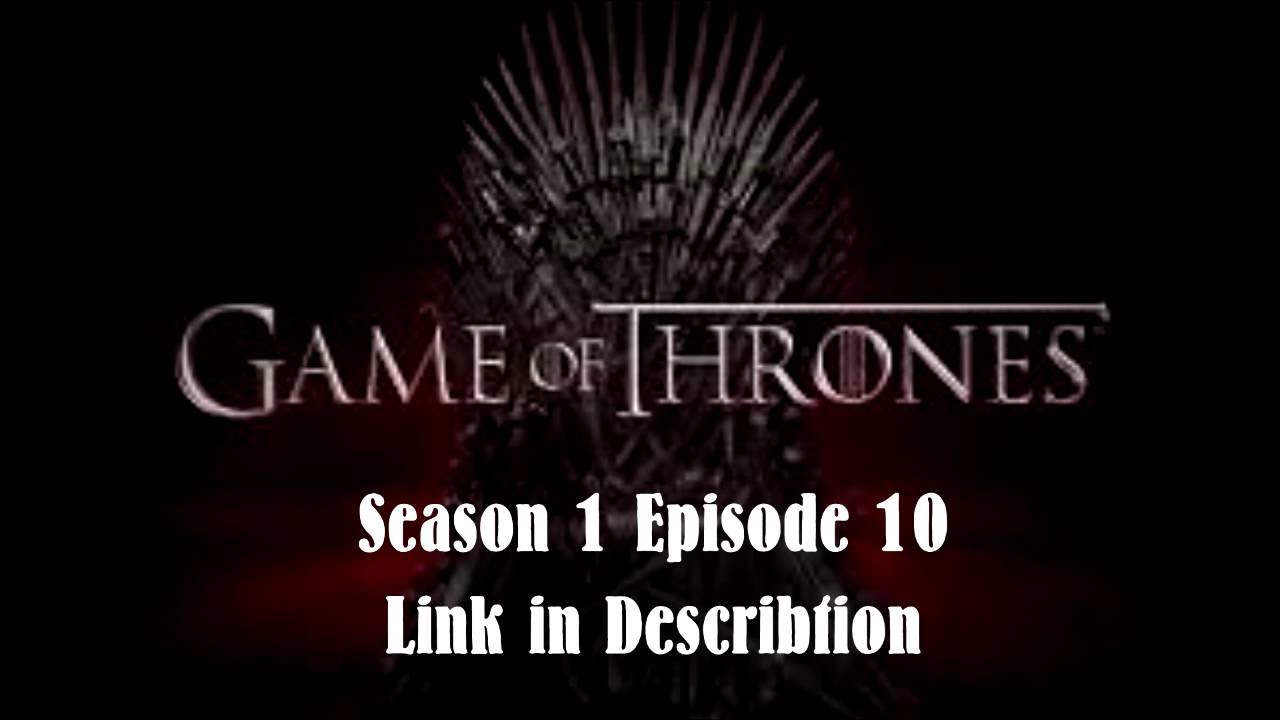 game of thrones staffel 1 folge 10 deutsch
