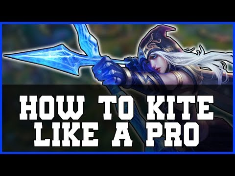 How To Kite and CS Like a PRO with Attack Move Click Explained - League of Legends