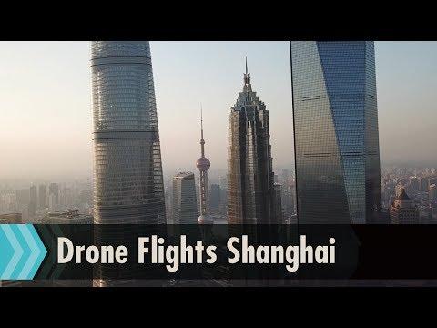 Drone flights in Shanghai