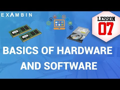 Basics Of Hardware And Software | Computer Awareness Lesson - 7