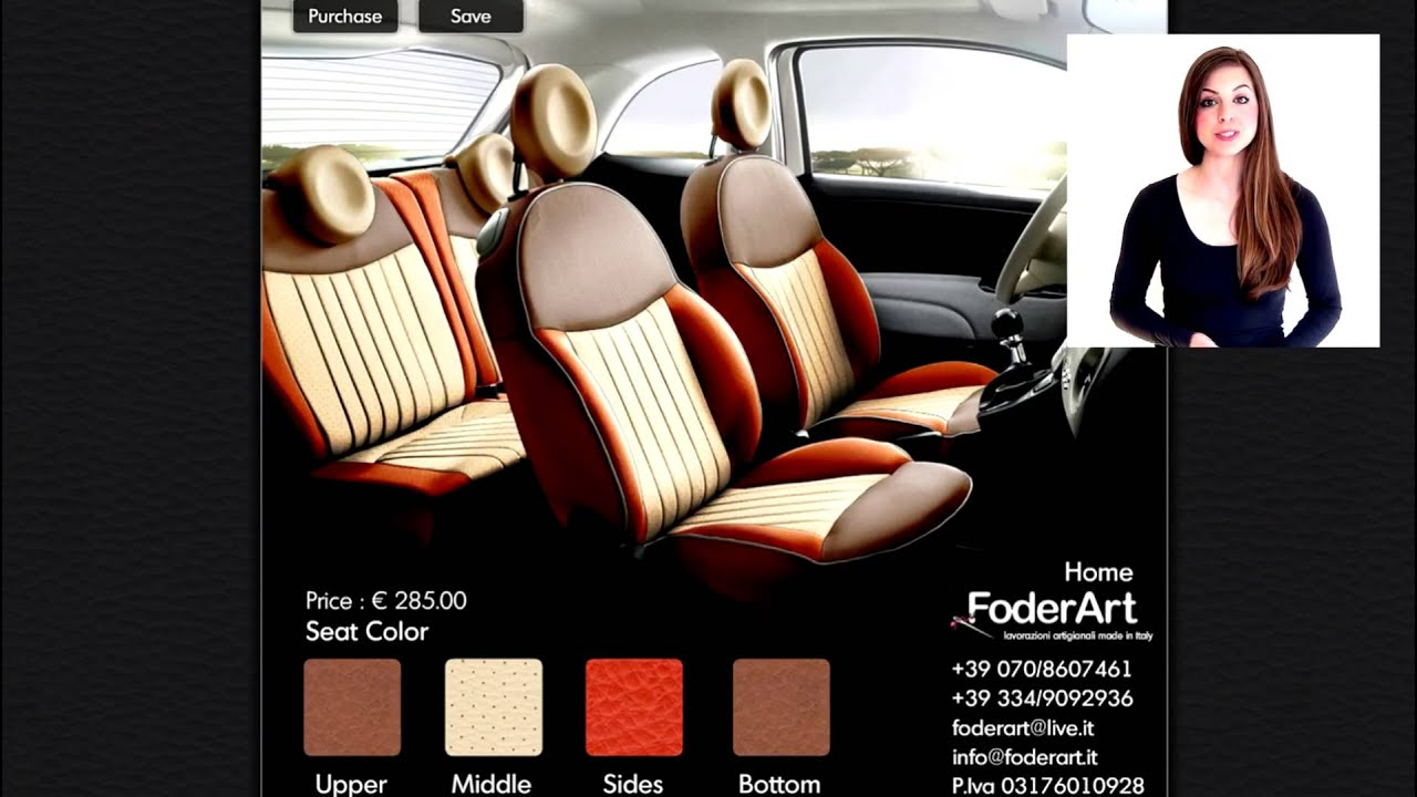 Seat Covers Fiat 500 Youtube