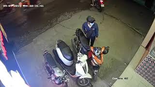 Trộm xe không thành ở hóc môn tphcm .