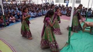 Swagat geet Hanumandhar pri.school Raval. Shubhdin aayo