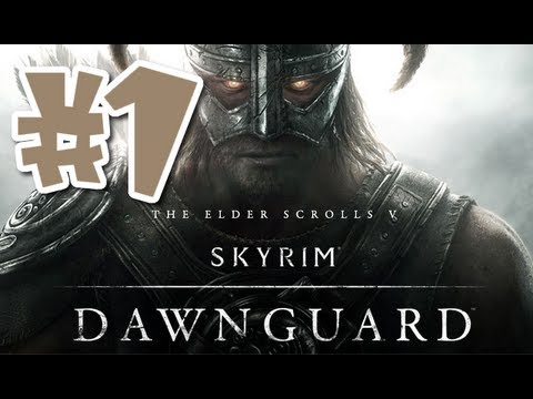 Skyrim: Dawnguard DLC Walkthrough - Part 1 [With Commentary] HD |