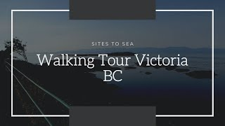 Walking Tour Victoria BC  Walking Tour Of Crescent DrKing George Terrace & Beach Drive In Victoria