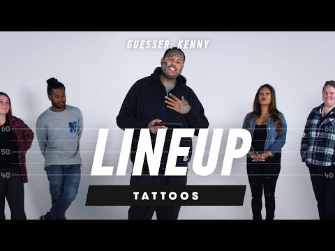 Which Tattoo Belongs to Which Person? (Kenny) | Lineup | Cut