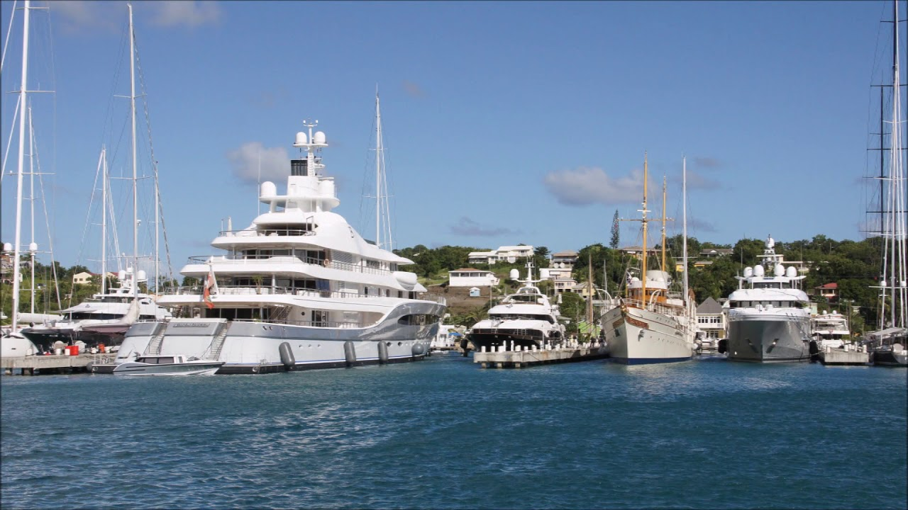 Antigua Super Yachts Le Grand Bleu Owned By Roman Abramovich