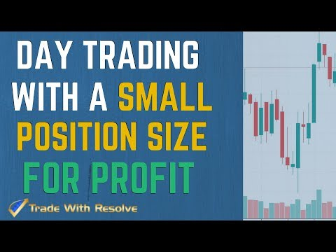 Live Online Stock Options Day Trading for Beginners: Day Trading with a Small Position Size