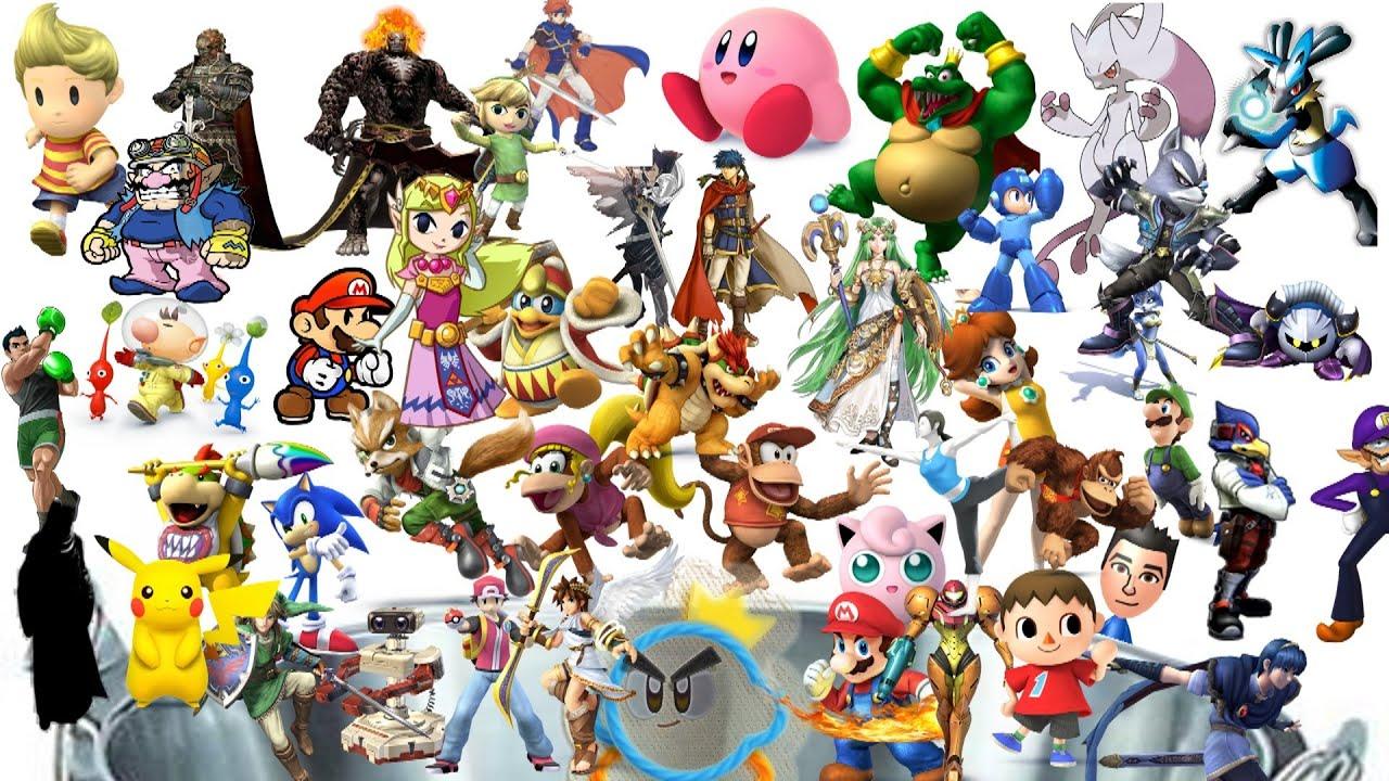 50 Super Smash Bros 4 Character Predictions!! - YouTube