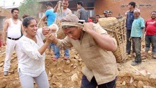 ईटा ढुंगा बोक्दै धुर्मुस-सुन्तली | Dhurmus Suntali Foundation | Giranchaur | सहयोग गरौं