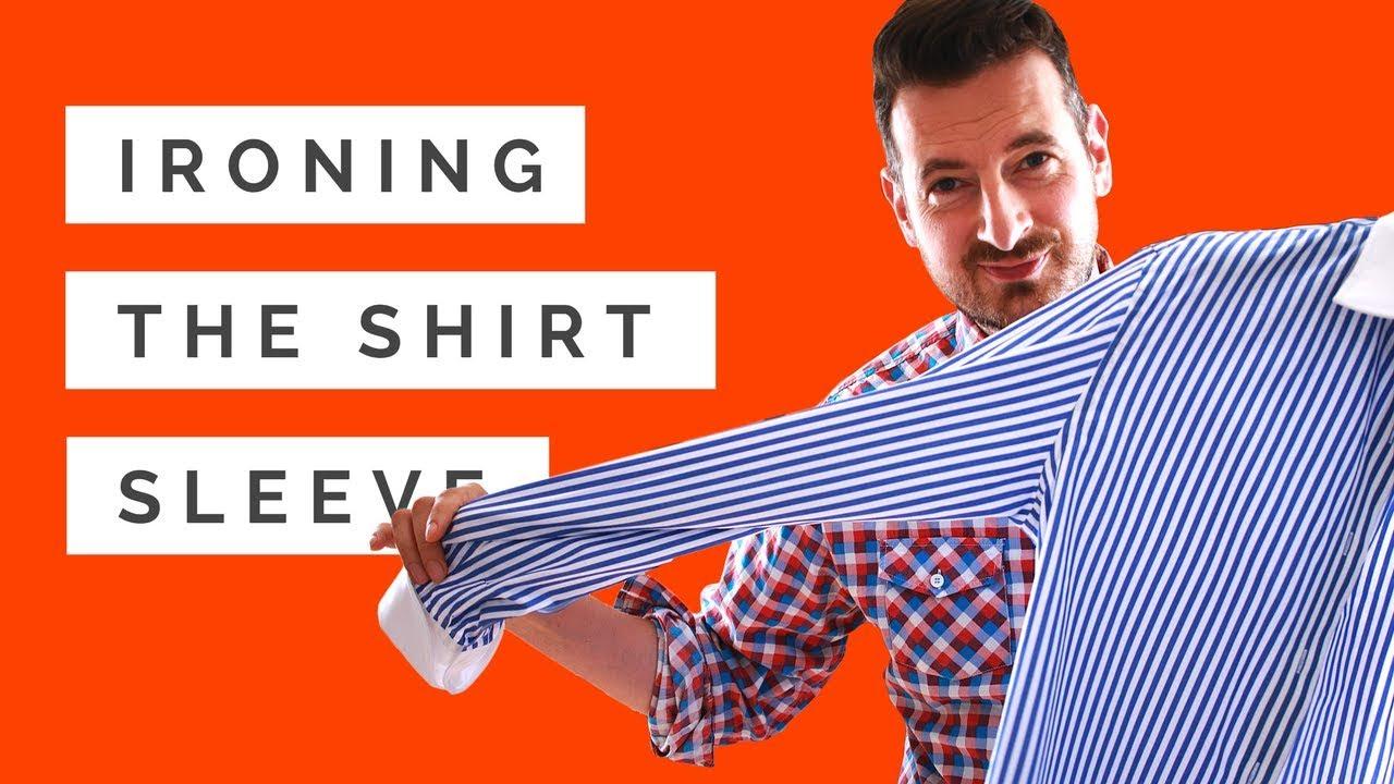 How To Iron Shirt Sleeves Shirt Ironing Tutorial