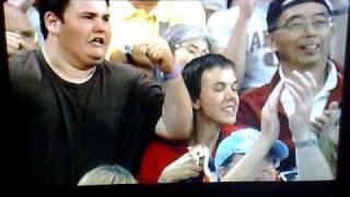 Andy Murray fans at Wimbledon