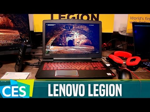 Lenovo Legion, primeras impresiones #CES17