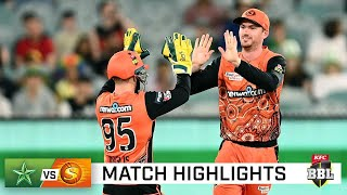 Scorchers soar to top of the table with victory over the Stars | KFC BBL|10