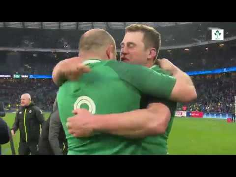 Irish Rugby TV: Ireland's 2018 Grand Slam  Tunnel Cam At Twickenham
