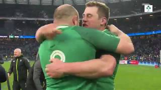 Irish Rugby TV: Ireland's 2018 Grand Slam - Tunnel Cam At Twickenham