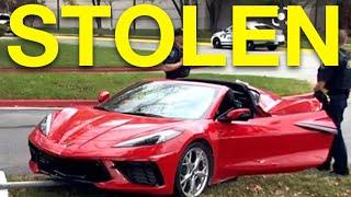 C8 Corvette Stolen From Dealership in Broad Daylight!