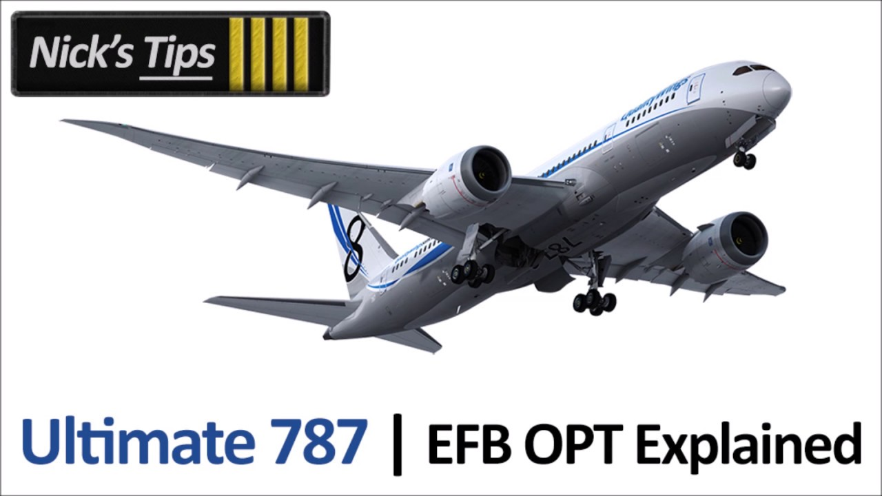 Video: QualityWings 787 EFB Onboard Performance Tool