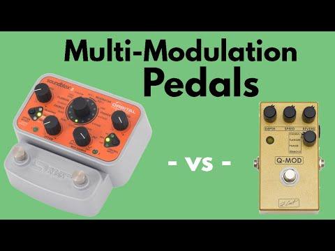 Multi-Modulation Pedals - Source Audio Orbital Modulator Vs. ZCAT Q-Mod