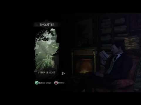 Sherlock Holmes Crimes & Punishments - Cas n°1 Peter le Noir toutes les déductions