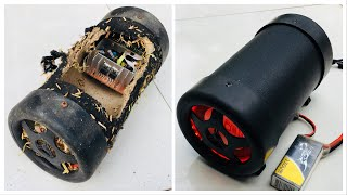 Phục Chế Loa Mua Ve Chai Đẹp Như Mới. (Sepair The Speaker From Broken Speaker)