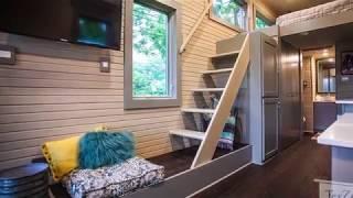 The Most Incredible Tiny House Single Loft From Texzen Tiny House Youtube