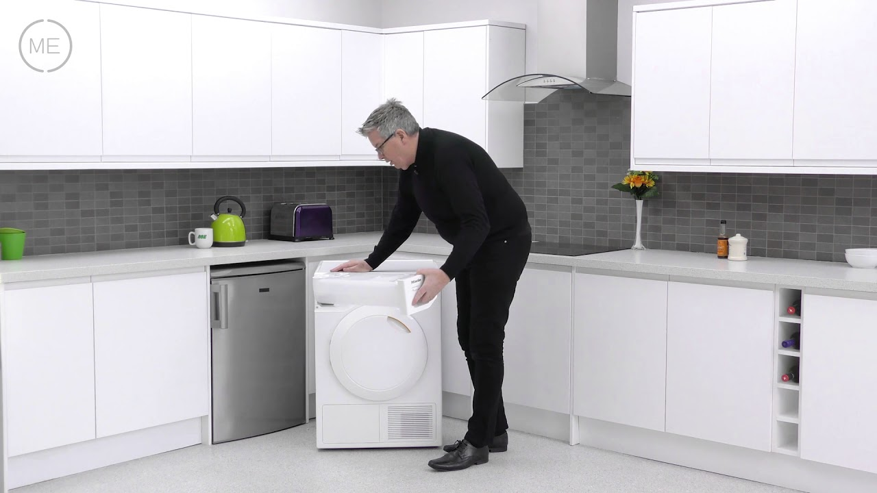 miele t1 classic tdd220 white condenser dryer with heat pump technology review youtube. Black Bedroom Furniture Sets. Home Design Ideas