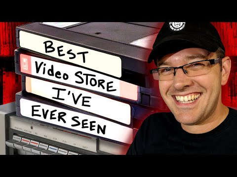 """Best Video Store I've Ever Seen!! - """"Movie Madness"""" in Portland, Oregon"""