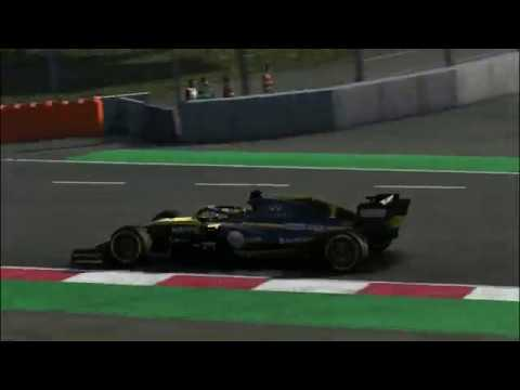 TAKING POINTS FROM P20 AND RACING DEVON BUTLER ?!?!?! F1 2019 Game Part 5 Renault Career  