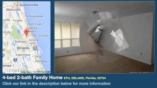 4-bed 2-bath Family Home for Sale in Deland, Florida on florida-magic.com