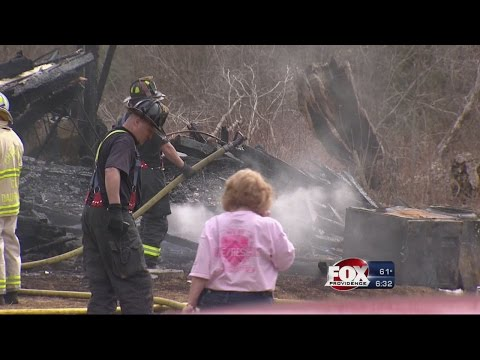Glocester Home Destroyed In Fire
