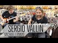 Sergio Vallín from Mana and Michael Lemmo at Norman's Rare Guitars