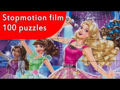 Puzzle - Barbie Rock Queens - Stopmotion film. BlockSanity