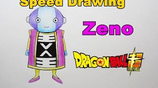 Drawing Zeno Dragon Ball Super - Desenhando Zeno