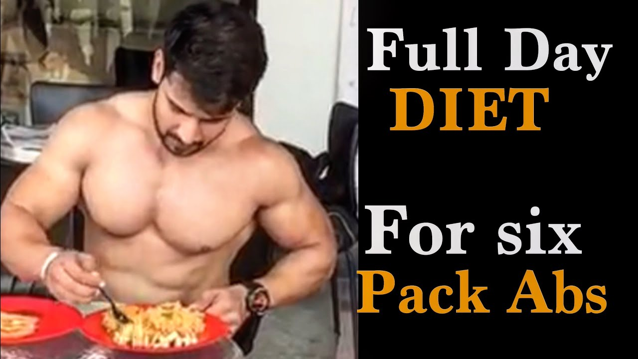daily diet plan for six pack abs