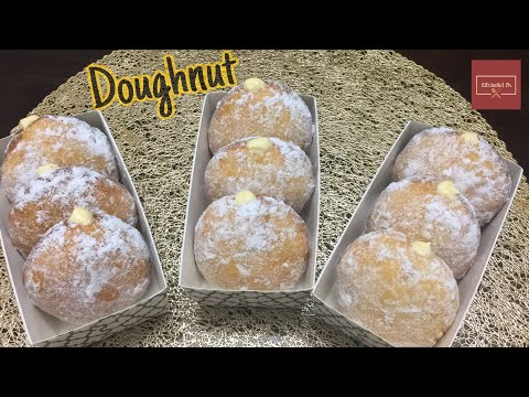 Soft Doughnut | With Condensed Milk Butter Cream Filling | KitcheNet Ph
