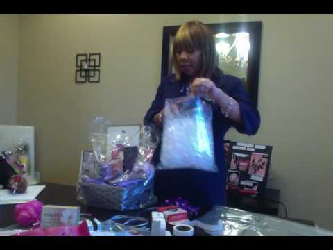 How to make Mary Kay gift baskets - Jovan Tapeh