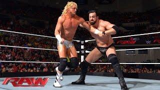 "Dolph Ziggler & ""R-Ziggler"" vs. The Miz & ""Damien Mizdow"": Raw, Sept. 15, 2014"
