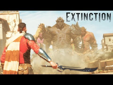 Bloody giant ogre battles are at the heart of Extinction
