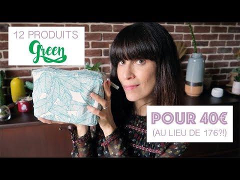 12 PRODUITS GREEN POUR 40€ AU LIEU DE 176? HELL YEAH!