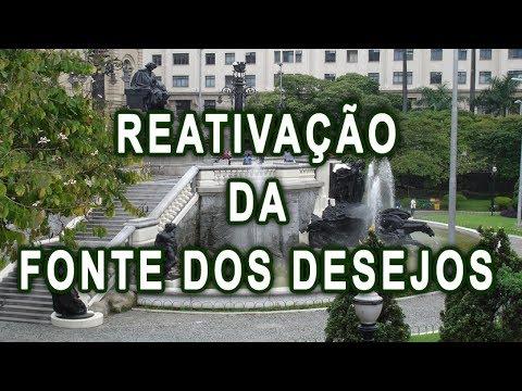 """Prefeitura reativa monumentos no centro de SP - """"Fonte dos Desejos"""" e """"Escultura Drusa"""""""