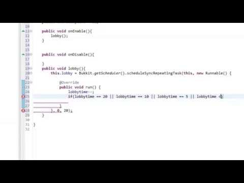 Plugin Tutorial (Bukkit) // Lobby programmieren