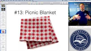 Home Inspection Tip #63:  How to use a picnic blanket during a home inspection