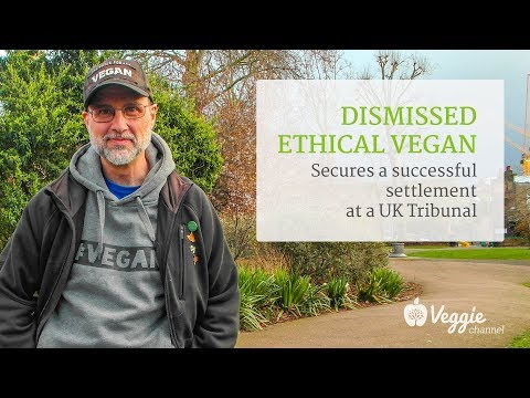 Dismissed ethical vegan secures a successful settlement at a UK Tribunal